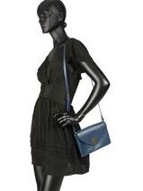 Crossbody Bag Vintage Leather Nat et nin Beige vintage SALLY-vue-porte