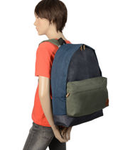 Sac à Dos 1 Compartiment Quiksilver Noir youth access QYBP3478-vue-porte