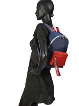 Backpack Tommy Jeans Tommy hilfiger Black tjw AU00530-vue-porte