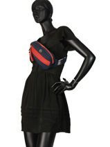 Sac Banane Youthful Nylon Tommy hilfiger Noir youthful nylon tote AW06464-vue-porte