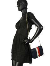 Shoulder Bag Honey Tommy hilfiger Black honey AW06865-vue-porte