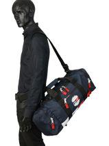 Sac De Voyage Tommy Jeans Heritage Tommy hilfiger Noir tju heritage AU00694-vue-porte