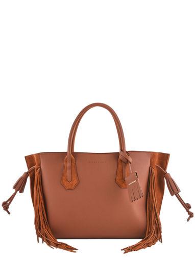 ae894cc4d Longchamp PÉnÉlope folk Handbag Brown ...