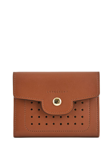 Longchamp Mademoiselle longchamp Wallet Brown