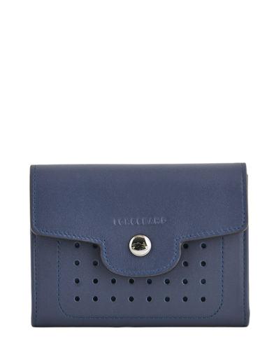Longchamp Mademoiselle longchamp Wallet Blue