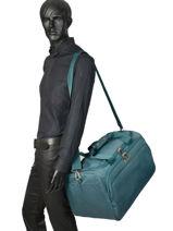 Travel Bag Spark Sng Samsonite Blue spark sng 65N012-vue-porte