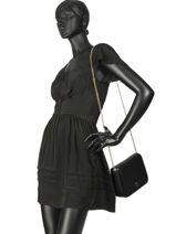 Shoulder Bag Honey Tommy hilfiger Black honey AW06630-vue-porte