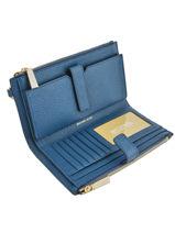Wallet Leather Michael kors Brown mercer T7GAFW4L-vue-porte