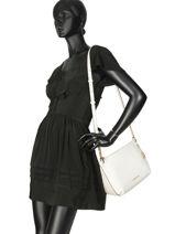 Shoulder Bag Lilie Leather Michael kors White lilie S9G0LM7L-vue-porte