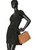 Shopping Bag Lilie Leather Michael kors Brown lilie S9G0LS2L-vue-porte