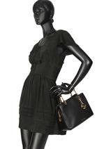 Shopping Bag Lilie Leather Michael kors Black lilie S9G0LS2L-vue-porte