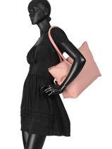 Shoulder Bag L.12.12 Concept Fantaisie Lacoste Black l.12.12 concept fantaisie NF2803CF-vue-porte