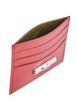 Longchamp Roseau Porte billets/cartes Rose-vue-porte