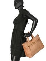 Shopper Beth Leather Pieces Brown beth 17093709-vue-porte