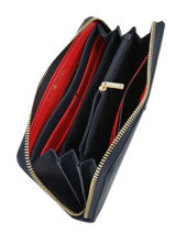 Wallet Tommy hilfiger Black honey AW06491-vue-porte