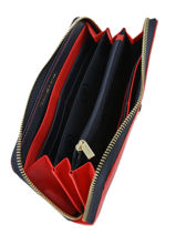 Portefeuille Tommy hilfiger Rouge honey AW06491-vue-porte
