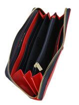 Wallet Tommy hilfiger Red honey AW06491-vue-porte