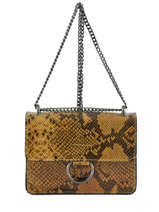 Crossbody Bag Python Milano Yellow python PI17111