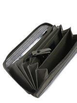 Leather Wallet Minimal Mahe Burkely Black minimal mahe 870764-vue-porte