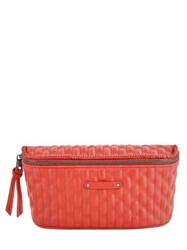 Longchamp Amazone matelassÉ Pouch bag Red