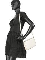 Shoulder Bag  Leather Crinkles Black 70774-vue-porte