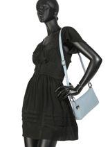 Crossbody Bag  Leather Crinkles Black 80251-vue-porte