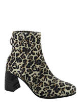 Leopard boots-MJUS