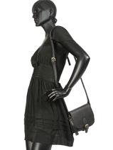 Crossbody Bag Desert Daisy Leather Burkely Black desert daisy 542183-vue-porte