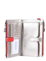Wallet Guess Red colette VG729357-vue-porte