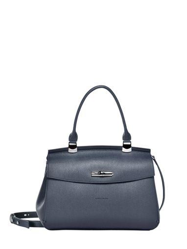 Longchamp Longchamp madeleine Sacs porté main Bleu
