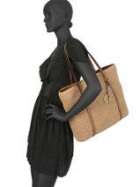 Shoulder Bag A4 Tolton Lauren ralph lauren Black tolton 31742686-vue-porte