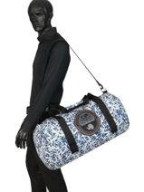 Travel Bag Bering Printed Napapijri Black bering NOYIGS-vue-porte