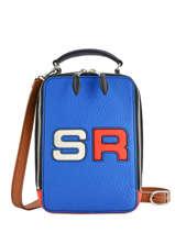 Sac Bandoulière Le Pavé Logo Cuir Sonia rykiel Multicolore le pave 4300-48
