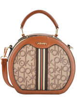 Crossbody Bag Sigle Miniprix Brown sigle V3187