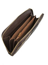 Portefeuille Miniprix Noir sigle 91164-2C-vue-porte