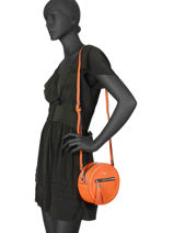 Shoulder Bag Couture Miniprix Orange couture HJ1736-1-vue-porte