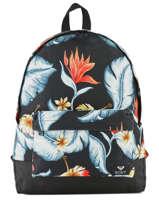 Backpack 1 Compartment Roxy Black backpack RJBP3837