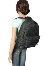 Backpack 1 Compartment Roxy Black backpack RJBP3838-vue-porte
