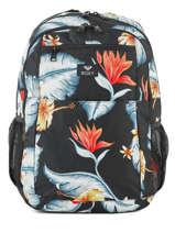 Backpack 3 Compartments Roxy Black backpack RJBP3846