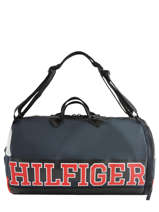Travel Bag Varsity Nylon Tommy hilfiger Black varsity nylon AM04521