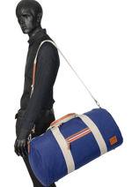 Sac De Voyage Cabine Atleta Serge blanco Bleu atleta ALT13014-vue-porte