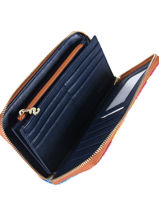 Wallet Carabela Desigual Black carabela 19SAYP17-vue-porte