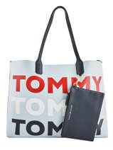 Shoulder Bag Iconic Tommy Tommy hilfiger Blue iconic tommy AW06446