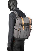 Messenger Bag Piquadro Gray blade CA4535BL-vue-porte