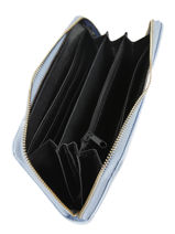 Wallet Miniprix Blue saffiano 78-1808-vue-porte