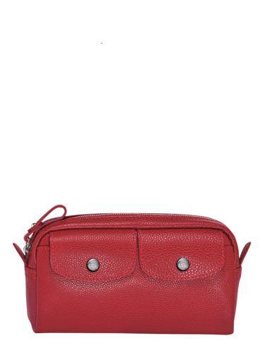 Longchamp Le foulonné Clutches Red