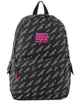 Backpack 1 Compartment Superdry Black backpack woomen G91007JR
