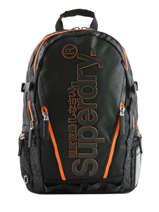 Sac à Dos 2 Compartiments Superdry Noir backpack men M91011JT