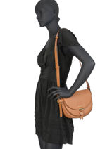 Shoulder Bag Mara Leather Michael kors Brown mara S9G03M2L-vue-porte