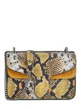 Crossbody Bag Python Milano Yellow python PI19031